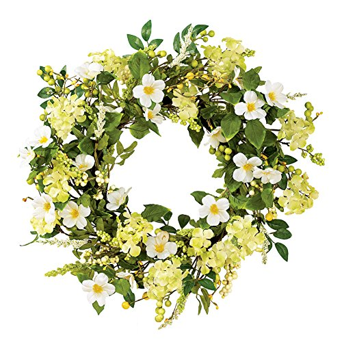 Collections Etc Irish Greenery Spring Wreath from Collections Etc