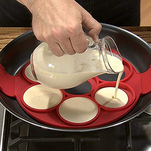 farmer-W Molde Crepera, Molde para Tartas Omelette Silicona Cake ...