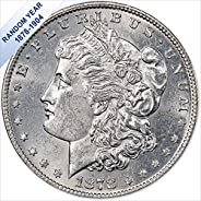 (1878-1904) Morgan Silver Dollar (BU) $1 Brilliant Uncirculated