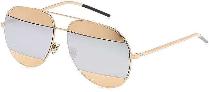 Christian Dior Split1 Sonnenbrille Roségold DiorSplit1 59mm 4HnhqhQ