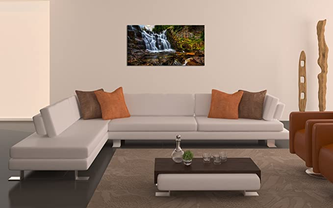 Amazon.com: Large Canvas Print Wall Art – Sunbeam Creek ...