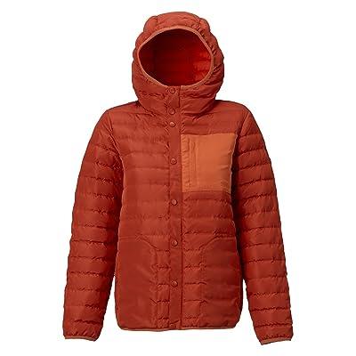 .com : Burton Women's Evergreen Down Hooded Insulator Jacket : Clothing