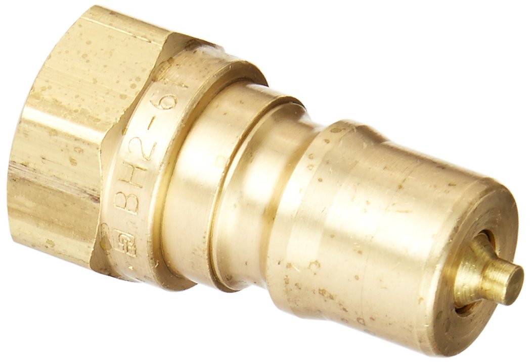 1//4 Body Size 1//4-18 NPTF Thread Parker Hannifin BH2-61 Series 60 Brass Multi-Purpose Quick Nipple with Female Pipe Thread 1.54 Length 1//4 Body Size 1//4-18 NPTF Thread 1.54 Length Parker Hannifin Corporation ISO 7241 Series B Interchange