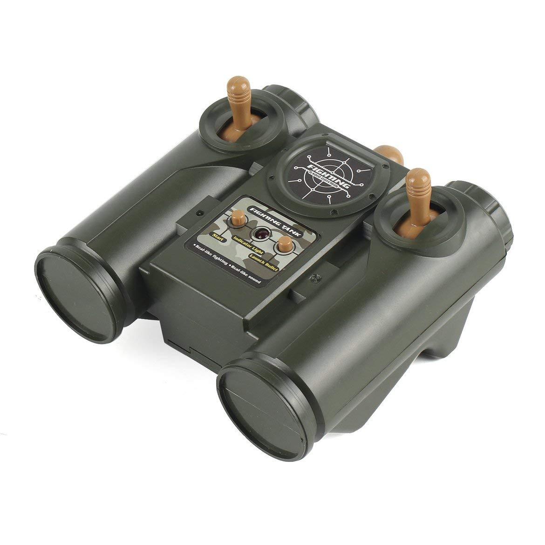 Tarnung JohnJohnsen 1.28 RC Panzer 27MHz Infrarot-RC M1A2 Tank-Tank Fernbedienung Remote-Spielzeug mit Musical Flashing f/ür Child Boy