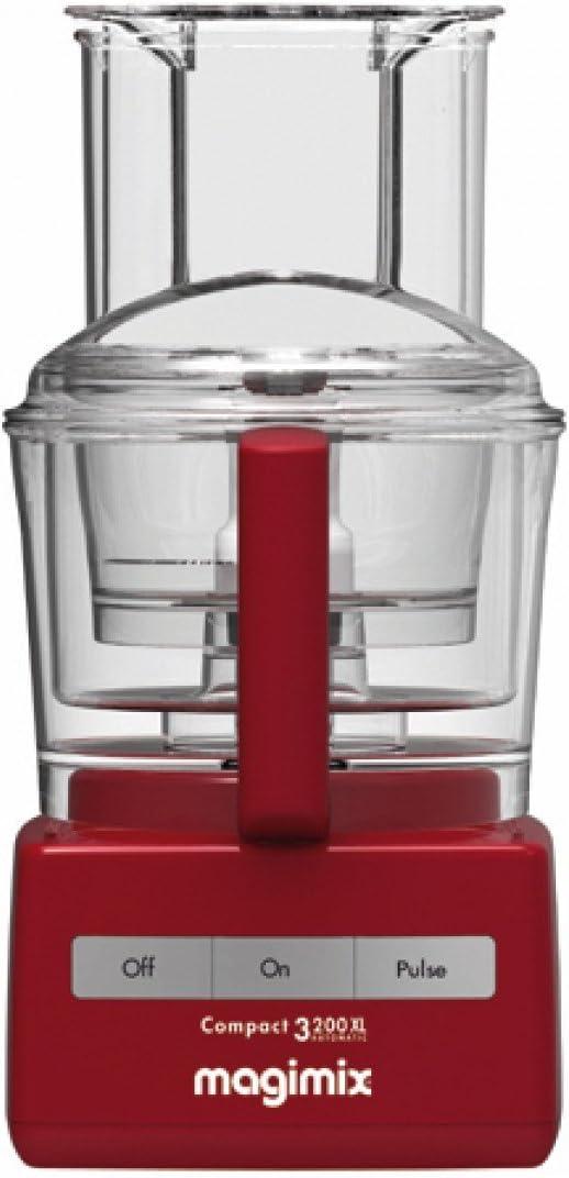 Magimix 3200 XL Robot de Cocina Rojo - exprimidor Incluido 85319EA: Amazon.es: Hogar