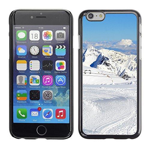 "Premio Sottile Slim Cassa Custodia Case Cover Shell // F00028434 Station de ski // Apple iPhone 6 6S 6G 4.7"""