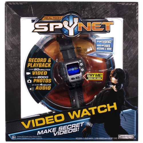 Digital Camera Spy Toy - SpyNet Secret Mission Video Watch