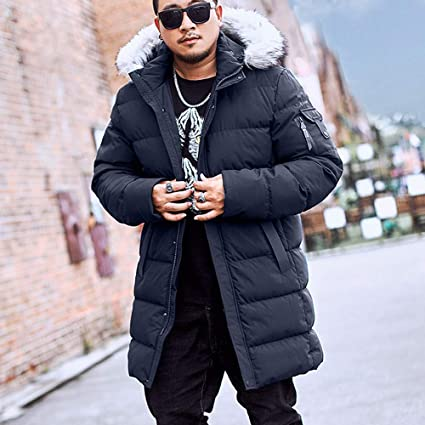 Amazon.com: CHENGRUIMAOYI Womens Winter Warm Big Fur Collar ...
