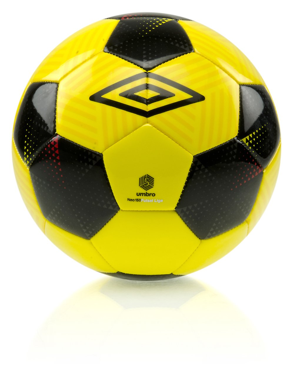 UMBRO Neo Futsal Liga - Balón de fútbol, Color Amarillo, Negro ...