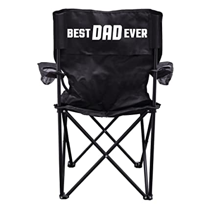 Amazing Victorystore Outdoor Camping Chair Best Dad Ever Camping Chair With Carry B Gmtry Best Dining Table And Chair Ideas Images Gmtryco