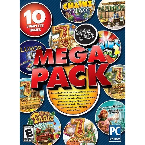 Mumbo Jumbo Encore Mega Pack 10 Complete Games All in One Pack PC CD-ROM (See List)