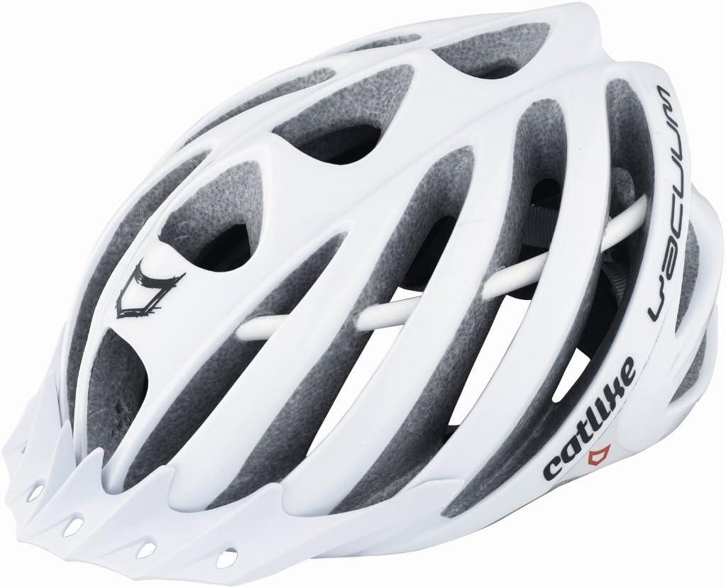Catlike Vacuum - Casco para Bicicleta Blanco Blanco Talla:L=59 ...