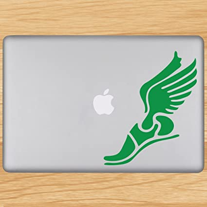 Winged Foot Removable Goneforarungraphix Laptop Decal Buy Winged