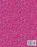Sketchbook: Cute Unicorn On Pink Glitter Effect
