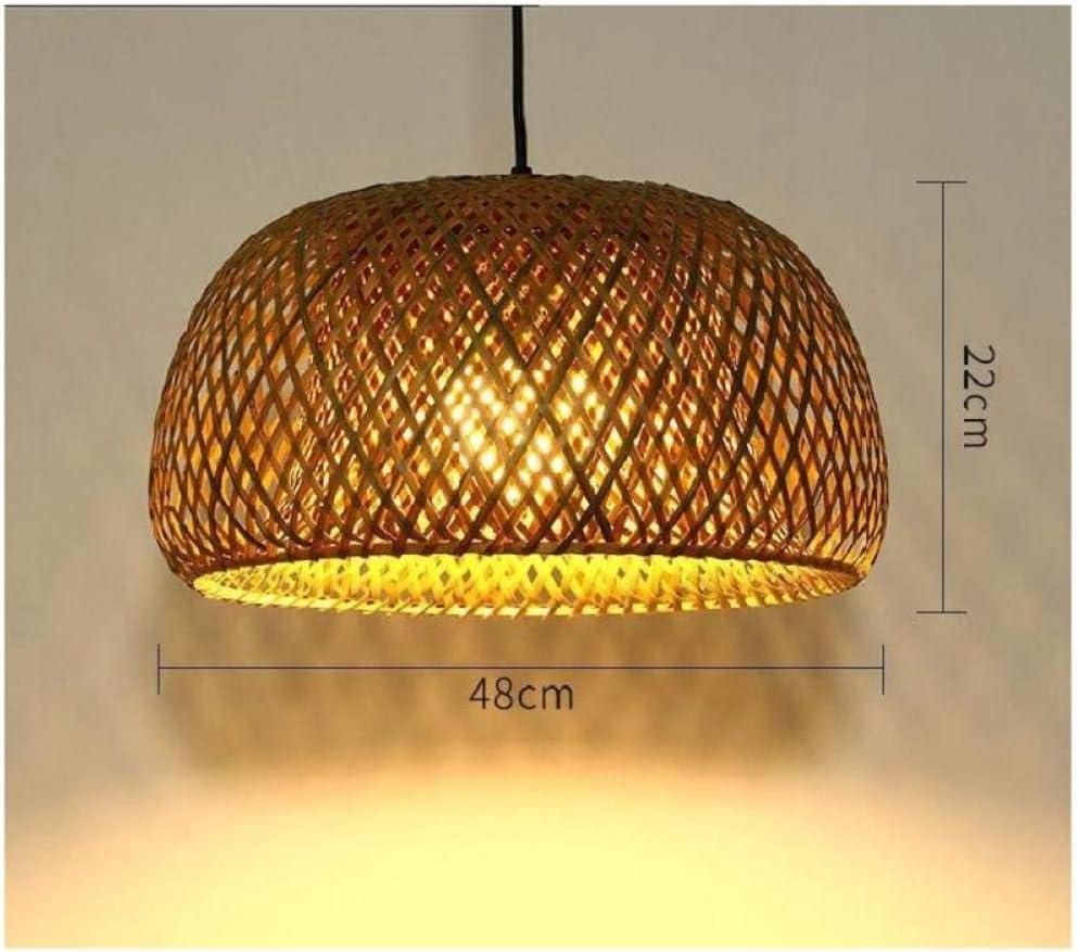 QingT Araña de Arte de bambú, Tejido de Barra de bambú, decoración de ingeniería, Bar, jardín de Infantes, Nuevo Gimnasio-Linterna Grande (tamaño Grande): Amazon.es: Hogar