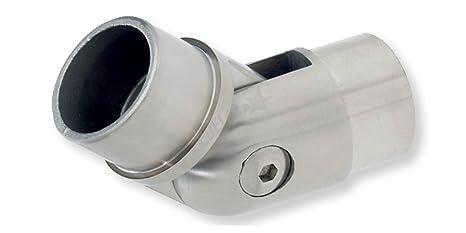 V2A Rohrverbinder flexibel 42,4 x 2,0 mm