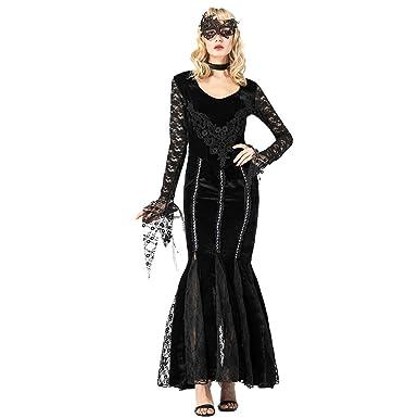 Disfraz de Halloween Disfraz de Vampiro Sexy para Mujer Fiesta de ...