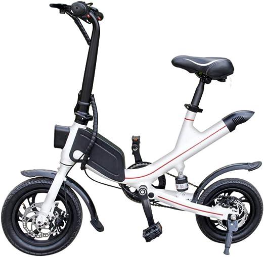 WJH9 Disco Bicicleta Plegable eléctrica, 12 Pulgadas Bicicleta 36V ...