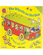 The Wheels on the Bus go Round and Round (Classic Books with Holes Big Book)