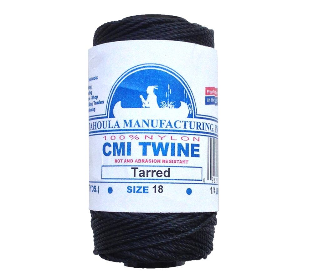 Catahoula Manufacturing No. 18 Tarred Twisted Nylon Bank Line