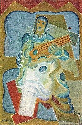 El Museo de salida - Pierrot, tocando la guitarra por Juan Gris ...