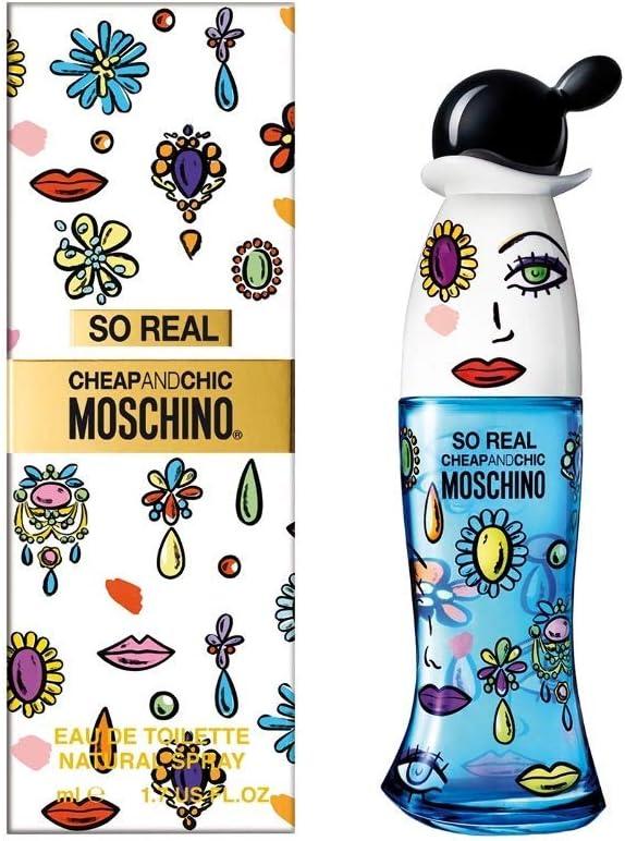 Moschino So Real Cheap & Chic Agua de Colonia - 30 ml: Amazon.es: Belleza
