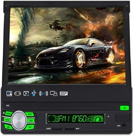 "Planet Audio Planet 7/"" Flipout SDin Touchscreen Monitor Bluetooth P9759B"