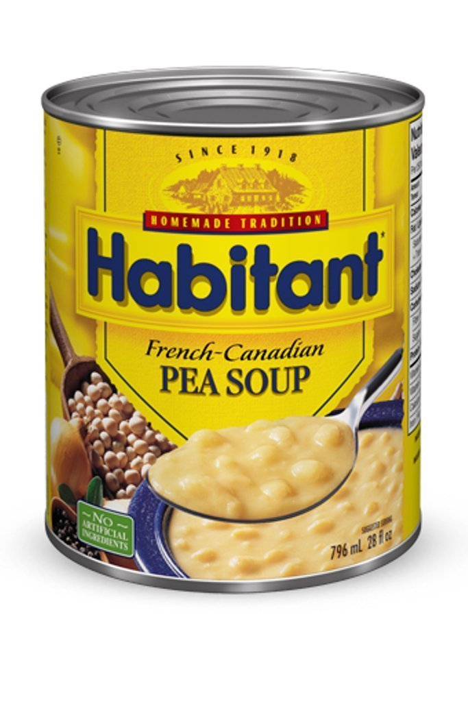 Habitant Yellow Pea Soup, 791ml/26.92-Ounce (Pack of 12)