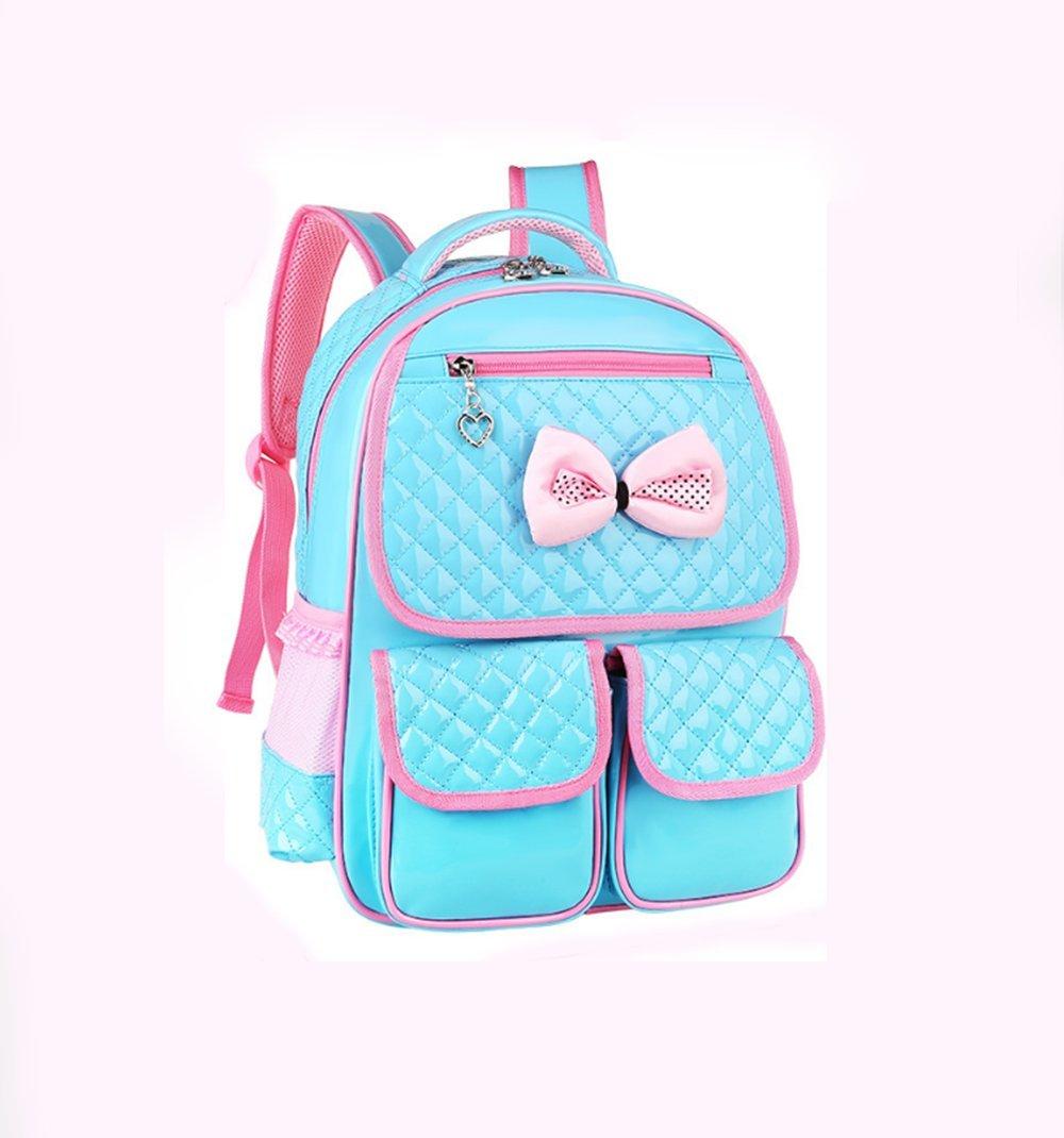 Grundschul Tasche wasserdichter Leichtgewicht Kinder Rucksack PU Material Jugend Mehrzweck-Freizeit Rucksackreise Tasche geeignet für Mädchen 4-12 Jahre alt B07NV8J3V9 | Online Shop