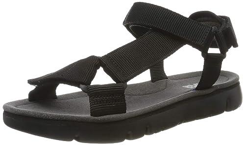 Camper sandalias Oruga Mujer BLACK Sandalias Zapatos para