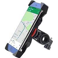 Handyhalterung Fahrrad,Universal Fahrrad Handyhalterung 360°Drehbare Handyhalter Fahrräder GPS Für 3,5-6,5 Zoll Smartphone GPS Andere Geräte Anti-Shake Fahrradzubehör Radsport Verhütung Von Abstürzen