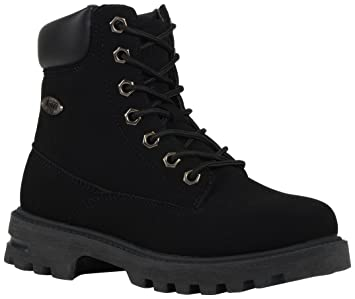Lugz Kids' Empire Hi Grade School Work Boots Black 6