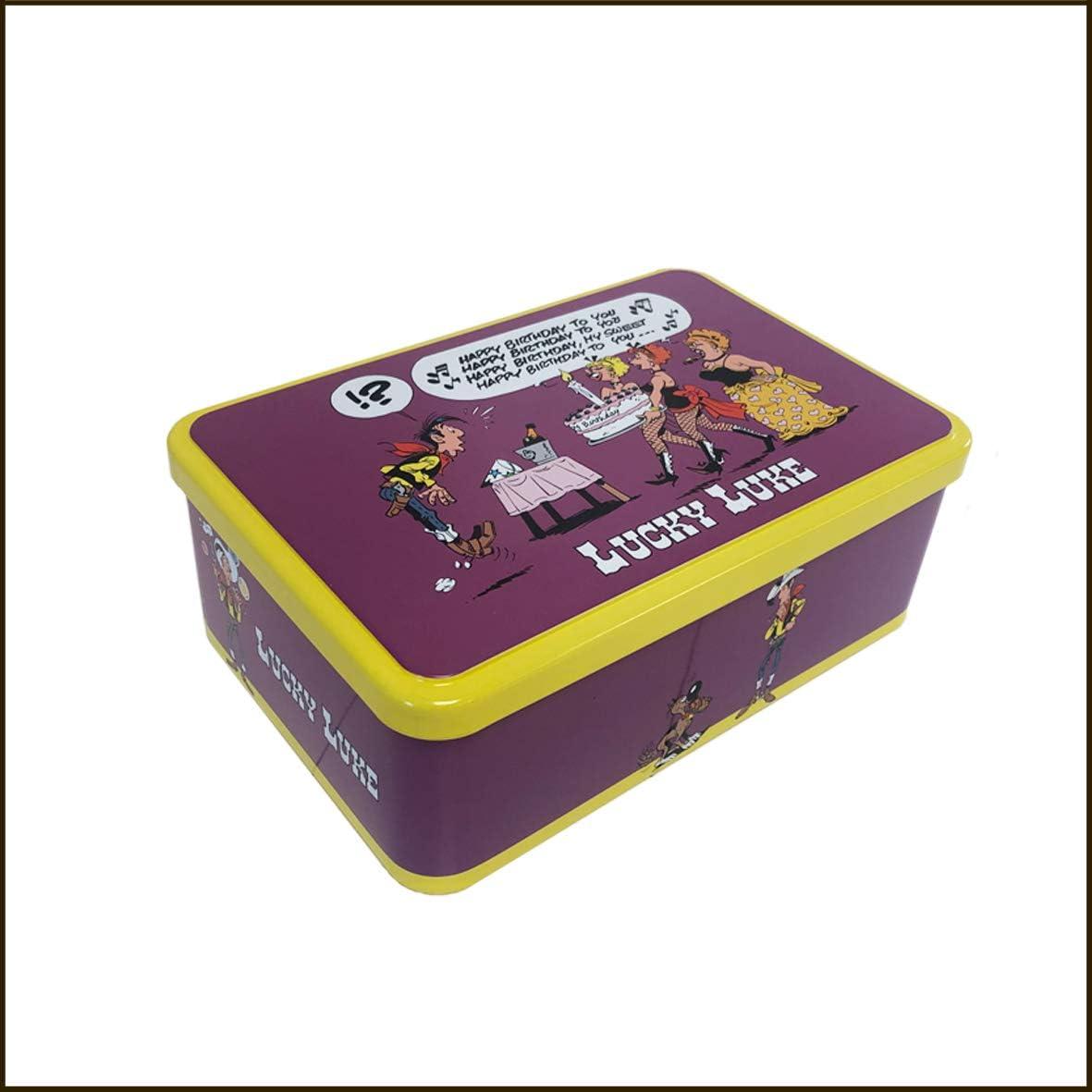 Massilly Lucky Luke - Caja metálica: Amazon.es: Hogar