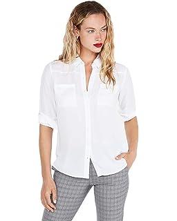 289ec29a3fbc7 Express Women s Convertible Sleeve Portofino Shirt