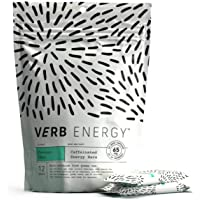 Verb Energy Bar, Coconut Chai, 90 Calories, 12 Count, Caffeinated