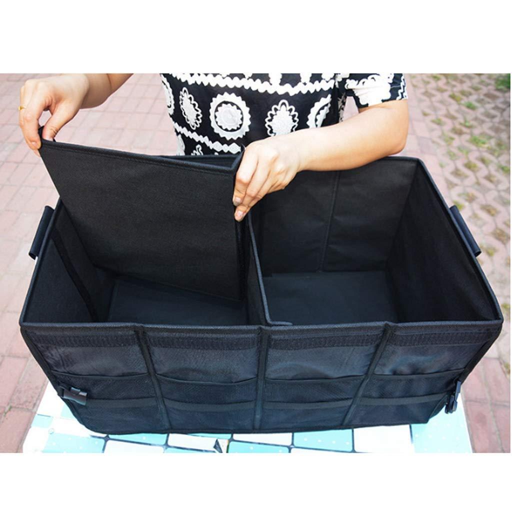 Car Storage Box Car Storage Box Trunk Storage Box Multi-Function Shape Folding Car Storage Box Glove Box (Color : Gray, Size : L) by Cxp Boutiques-Car Boot Bags (Image #5)
