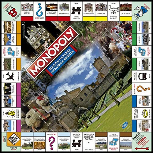 Eleven Force Monopoly Navarra (63386), Multicolor, Ninguna: Amazon.es: Juguetes y juegos