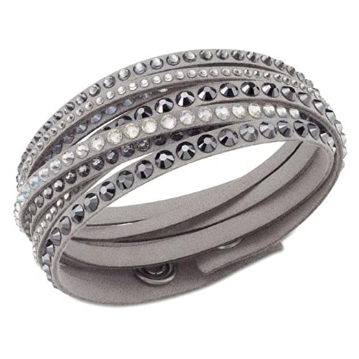 zircon paul products rich gunmetal grey bracelet grande