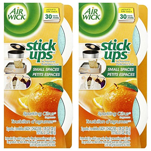 Stick Ups Air Freshener  2.1oz  Sparkling Citrus