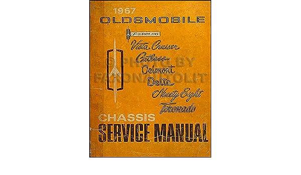 1967 Oldsmobile Repair Shop Manual Original 442/Cutlass/88