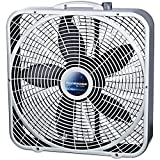 Lasko B20500 Weathershield Performance Box Fan, 20-Inch