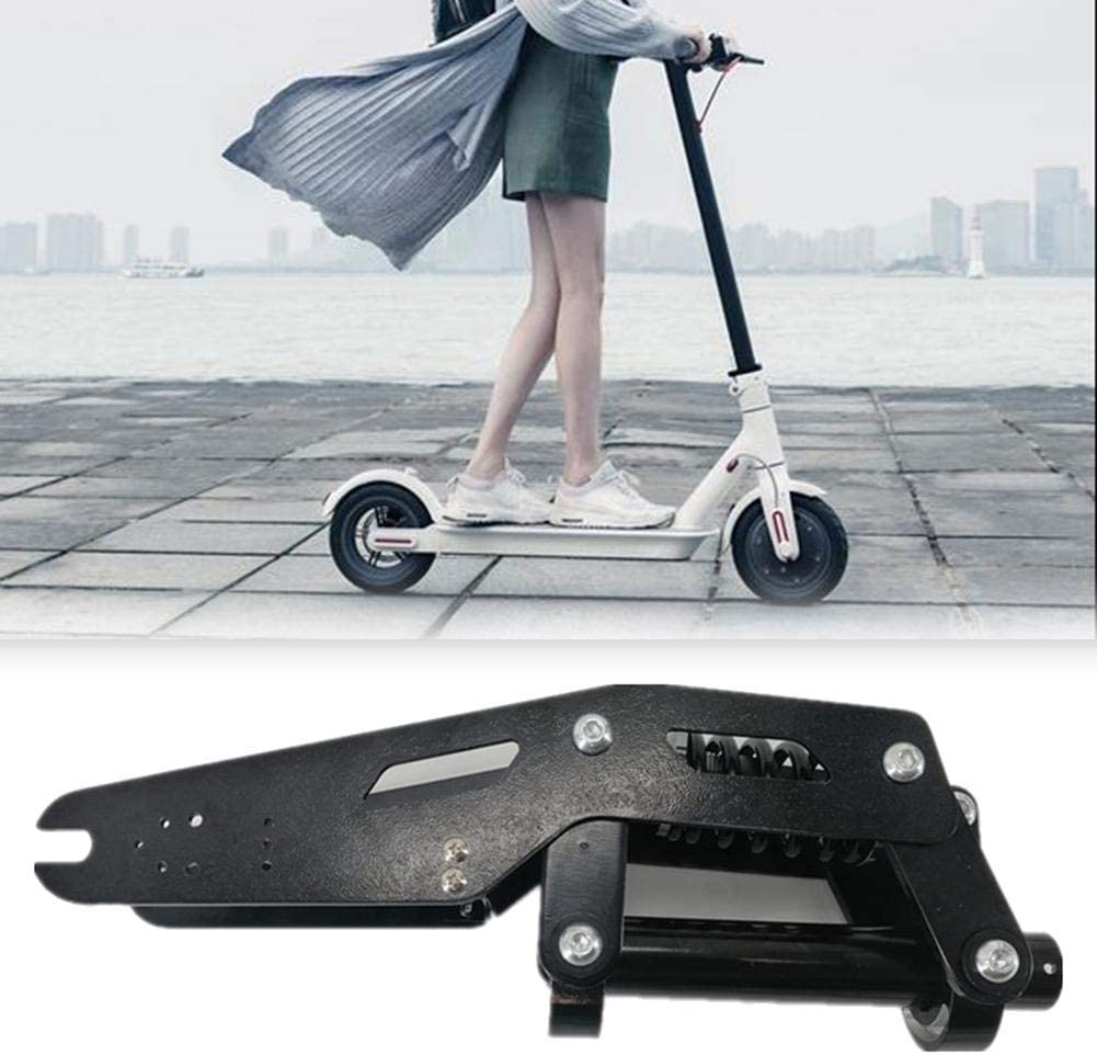 Ritapreaty Kit de Amortiguador de Scooter para Xiaomi Mijia M365 Pro Kit de Scooter eléctrico Modificado, Kit de Amortiguador de Rueda Delantera de Scooter eléctrico