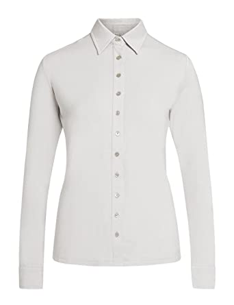 Brigitte von Boch - Mujer - Luiza Camiseta Polo Gris argentado ...
