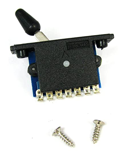 Amazon.com: 3-way Switch for Electric Guitar - easily switch between on 3 way solenoid valve wiring diagram, 3 prong switch diagram, 3 three-way switch diagram, 3-way light wiring diagram, clarion car stereo wiring diagram, 3-way toggle valve, 3-way switch wiring options, furnace blower wiring diagram, switchcraft 3-way toggle pick up diagram, three toggle switch wire diagram, 4 wire trailer wiring diagram, 2-way toggle switch diagram, 6 prong toggle switch diagram, 3 way circuit diagram, 3-way plug wiring diagram, fender telecaster 3-way wiring diagram, 3-way switch wiring variations, 3-way automotive toggle switch, clarion 16 pin wiring diagram, texas chopper wiring diagram,