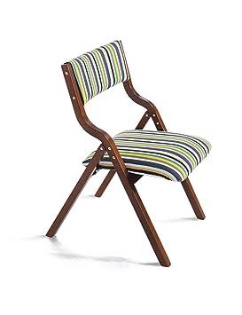 Sencillo y Moderno hogar sillas Plegables de Madera Silla de ...