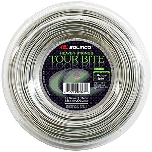 Solinco Tour Bite Tennis String Reel-Silver-17
