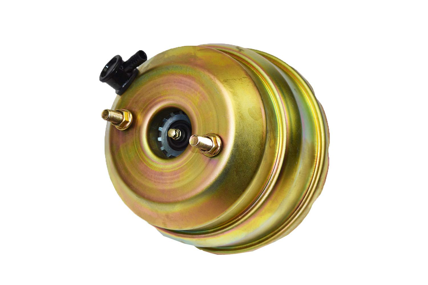 A-Team Performance Dual Power Brake Booster Conversion Kit Compatible With 1974-1986 Jeep CJ7 /& CJ5 8 Disc Drum