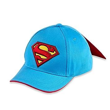 f18b639321c DC Comics Superman Baseball Cap with Cape Toddler Boys  Amazon.co.uk  Baby