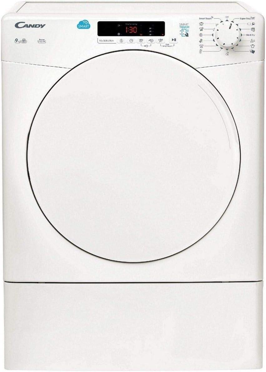 Candy – Secadora con carga frontal CSV 9 DF-S: Amazon.es: Grandes ...