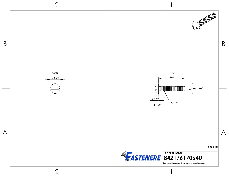 Full Thread Machine Thread Quantity 50 Solid Brass Grade 360 12-24 x 1//2 Round Head Machine Screws Plain Finish Slotted Drive